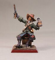 Painted Tin Toy Soldier Pirate #2 54mm 1/32