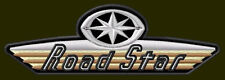 "YAMAHA ROAD STAR EMBROIDERED PATCH ~5-1/4"" x 1-3/4"" XV BORDADO PARCHE AUFNÄHER"