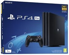 SONY PLAYSTATION 4 PS4 PRO 1TB BLACK EDITION CONSOLE NUOVA SIGILLATA