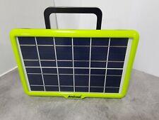kit pannello solare fotovoltaico con cassa wireless usb carica cellulare luci le
