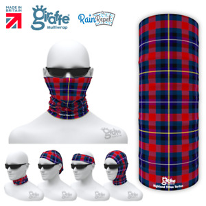 Highland Titles Scottish Tartan Multifunctional Headwear Neckwarmer Bandana