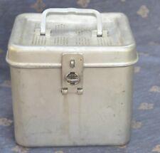 AESCULAR Alu Box mit Henkel Sterilcontainer Outdoor Angeln
