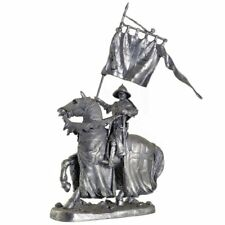 Templar Knight. Crusades. Tin toy soldiers 54mm 1/32 miniature metal sculpture