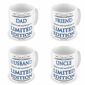 You're Not Weird You're Limited Edition Novelty Gift Mug - Blue