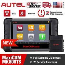 Autel MK808TS OBD2 Diagnostic Scanner Key Coding TPMS Programmer WiFi BT MS906TS