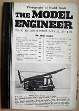 Model Engineer Vol 90 1944 #2246 Great Condition - images are photos of mag