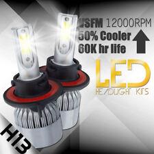 XENTEC LED HID Headlight kit H13 9008 White for 2008-2010 Dodge Grand Caravan