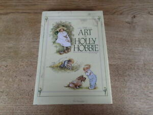 1986 The Art of Holly Hobbie , Drawing on affection, illustrated , DJ  T12