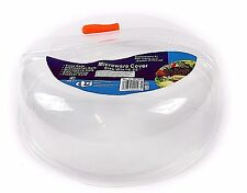 Plastic Ventilated Microwave Food Plate Dish Cover Kitchen Lid Safe Cooking