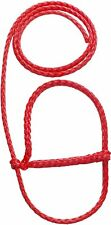 Red  Calf & Sheep Poly Halter