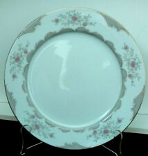 Victoria By Mikasa Floral And Scrolls Set of 4 Vintage Dinner Plates