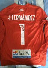 Camiseta usada match worn portero Levante Jesus Fernandez 15/16