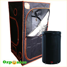 2 x Hydroponics GroCell Mylar Grow Tent 1 x 1 x 2m with High Quality Water Tank