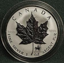 2004 CANADA Sagittarius privy Silver Maple Leaf Zodiac reverse proof -  pliofilm