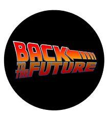 Parche imprimido, Iron on patch /Textil sticker, Pegatina/- Back to the Future