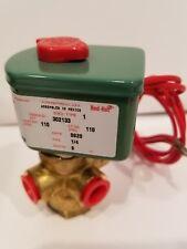Brass ASCO Solenoid Valve 8320A089 1/4 NpT 110 psi