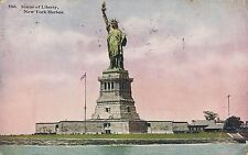 POSTCARD  UNITED STATES  NEW YORK  Harbour  Statue of  Liberty