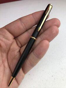 Vintage Parker Insignia Matte Black Ballpoint Pen