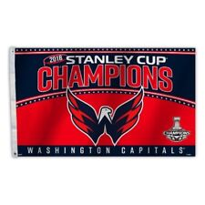 2018 Stanley Cup Champions 3x5 Flag Washington Capitals