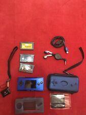 Game Boy Micro Azul Nueva + Cosas Interesantes