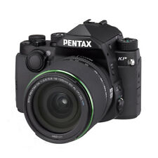 New PENTAX KP DSLR Camera with DA 18-135mm WR Lens - BLACK