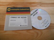 CD Indie Cymbals Eat Guitars - Lenses Alien (10 Song) Promo MEMPHIS INDUSTRIE cb