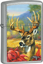 BUCK ZIPPO LIGHTER - LINDA PICKEN COLLECTION - NAME ENGRAVED FREE ON BACKSIDE