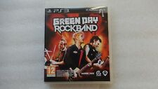 Green Day Rock Band PS3 Game for Sony PlayStation 3.