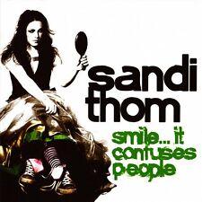 SANDI THOM  Smile.. It Confuses People     ( 10 Great Tracks )   Mint