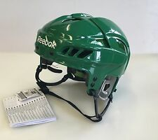 New Reebok 11K NHL/AHL Pro Stock/Retu​rn green medium M size ice hockey helmet