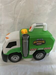 Real Working Buddies Mr. Dusty The Super Toy Eating Garbage Truck room cleaner