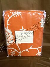 Pottery Barn French Knot Floral Embroidered bed Duvet Cover Full Queen FQ