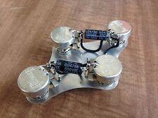 Gibson 300k Linear Taper Pots Les Paul 50's Wiring .047 Black Bee Cap Epiphone
