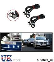 4 X 12v 10w Led Eagle Eye Daytime Running Drl White Light Backup Car Moto Bike