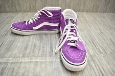 Vans Sk8-Hi Casual Skateboarding Shoes, Men's 7.5 / Women's 9, Purple