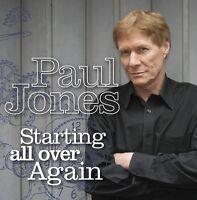 PAUL JONES (FEAT. ERIC CLAPTON) - STARTING ALL OVER AGAIN   CD NEU