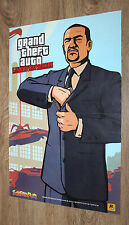 Grand Theft Auto Liberty City Stories/NFS Carbon seltene kleine Poster 42x28cm