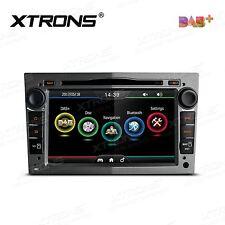 "GREY 7"" HD CAR CD DVD PLAYER STEREO GPS DAB+ RADIO OPEL VAUXHALL ASTRA H CORSA"