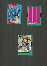 X-Men 1992 Impel 100 Card Set