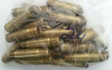 """24 Pieces 1/4 inch x 2"""" Nipple Brass Pipe Fitting NPT Air Water Gas Fuel Male"""