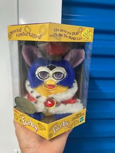 NIB Vintage Your Royal Majesty King Furby Special Limited Edition 70794 Tiger NR