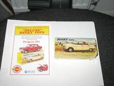 FRENCH ATLAS DINKY DELUXE PEUGEOT 204 #510 (MIB)