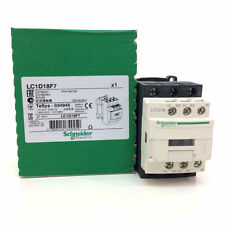 Schneider Electric LC1D18F7 TeSys D Contactor, 3P, 440V 18 A AC-3, 110 VAC 7.5kw