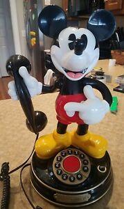 Vintage Disney Mickey Mouse Telephone 1 Telemania 1997