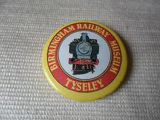 Birmingham Railway Museum Tyseley button badge