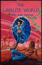 Fiction: THE LAVALITE WORLD by Philip Jose Farmer. 1983. Limited Phantasia edit.