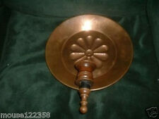 Large Copper Candle Holder Wall hanging