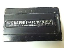 GRAPHIC FILM PACK ADAPTER BY GRAFLEX
