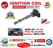 für Audi A3 1.8 2.0 TFSI FSI S3 RS3 QUATTRO AB 2003 einzeln Zündspule 4-Pin