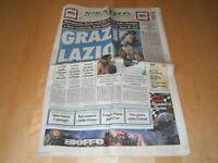 CORRIERE DELLO SPORT/STADIO=Lazio campione d'Italia 1999/2000